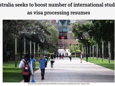 【最新】澳洲境外可以递交485,500学签可免费续签!